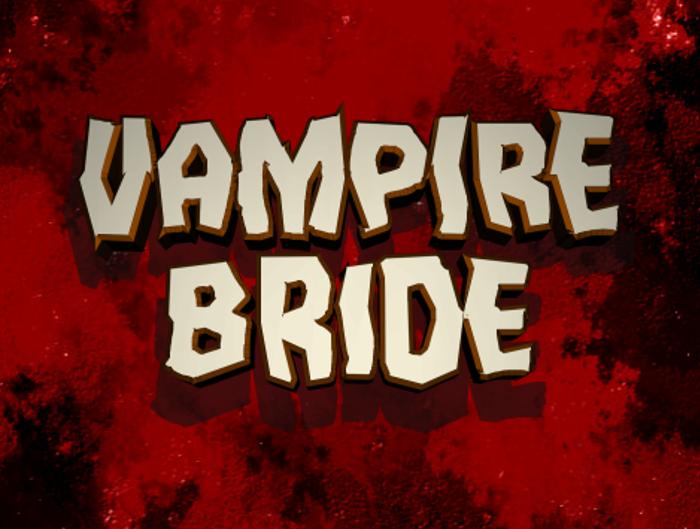 Vampire Bride Font poster