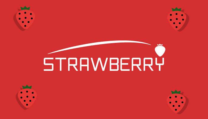 Strawberry Font poster