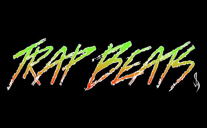 Trap Beats Font poster