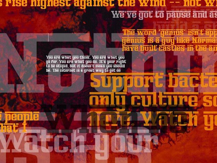 Ferro Rosso Font poster