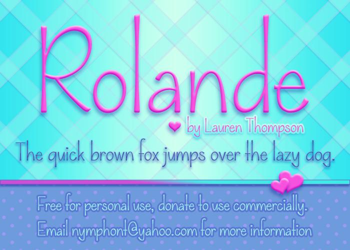 Rolande poster