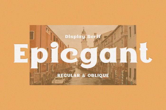 Epicgant Font poster