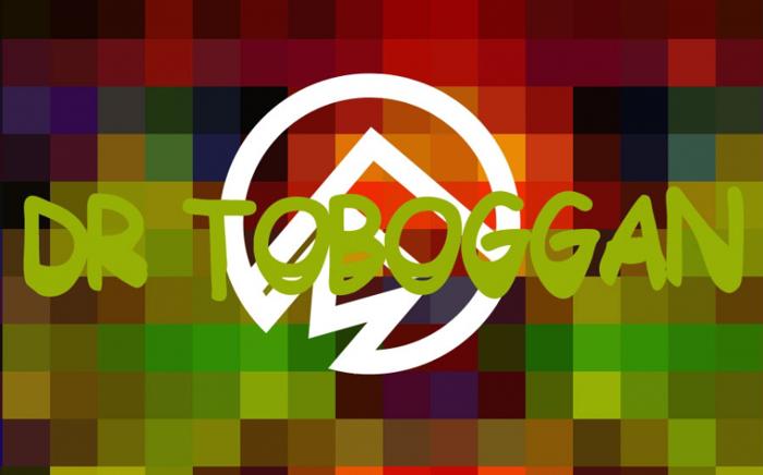 Dr Toboggan Font poster