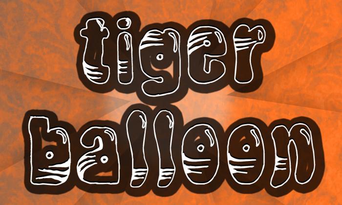 TigerBalloon Font poster