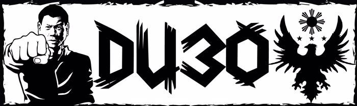 DU30 Font poster