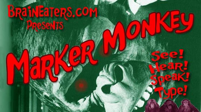 Marker Monkey FW Font poster