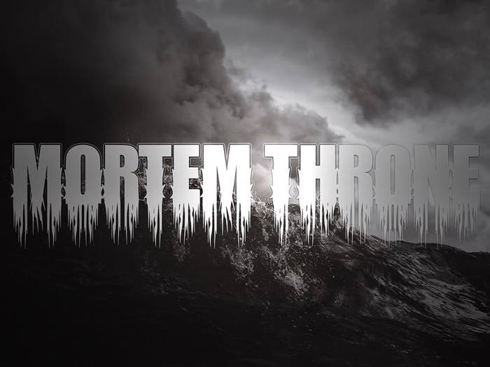 Mortem Throne Font poster