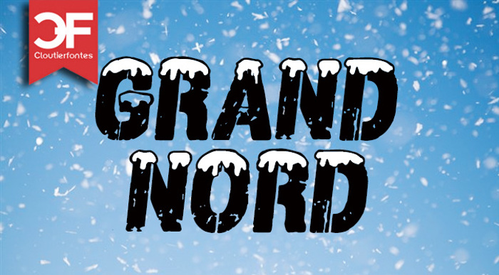 CF Grand Nord Font poster