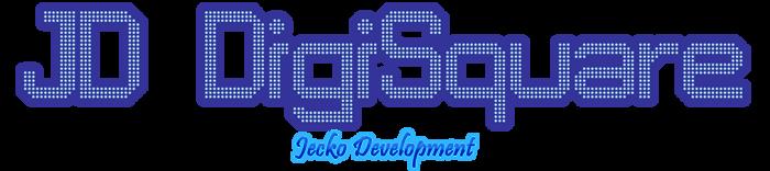 JD DigiSquare Font poster