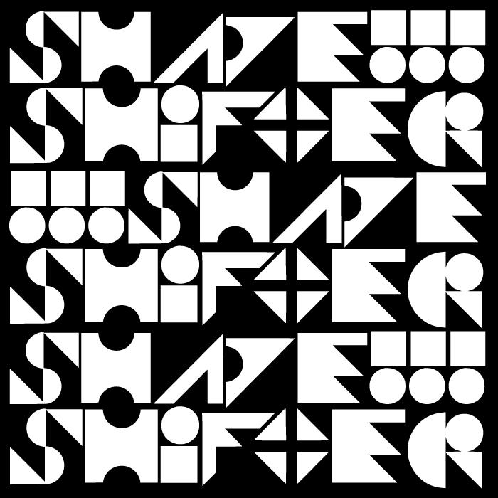Shapeshifter Font poster