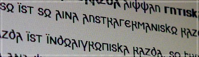 Skeirs Font poster