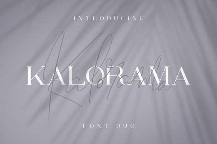 Kalorama Font