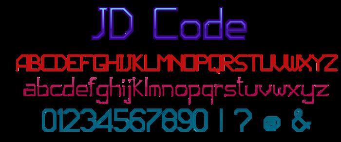 JD Code poster