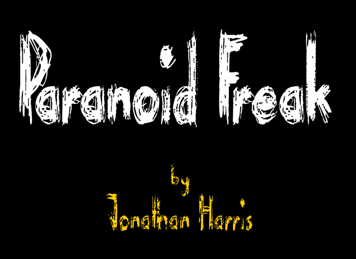 Paranoid Freak Font poster
