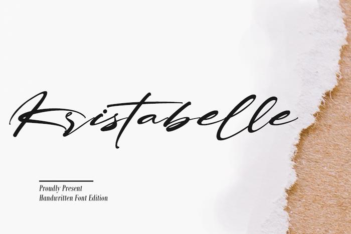 Kristabelle Font poster