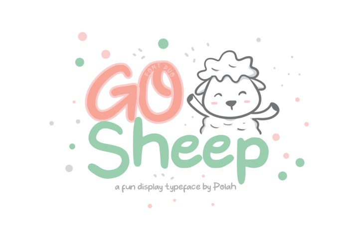 Go Sheep Font poster