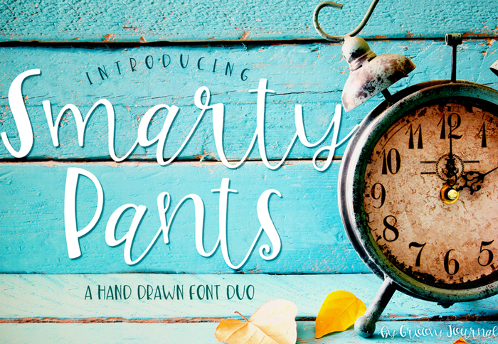 Smarty Pants-ip Font poster