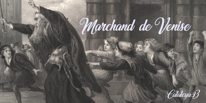 Marchand de Venise Font poster