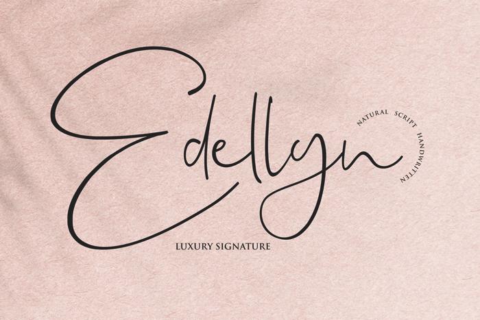 Edellyn Font poster