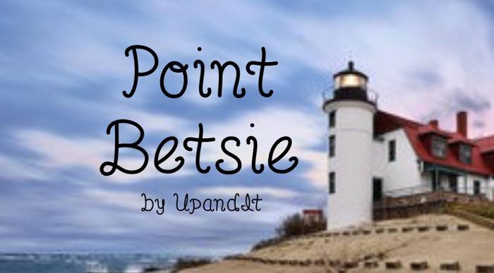 PointBetsie Font poster
