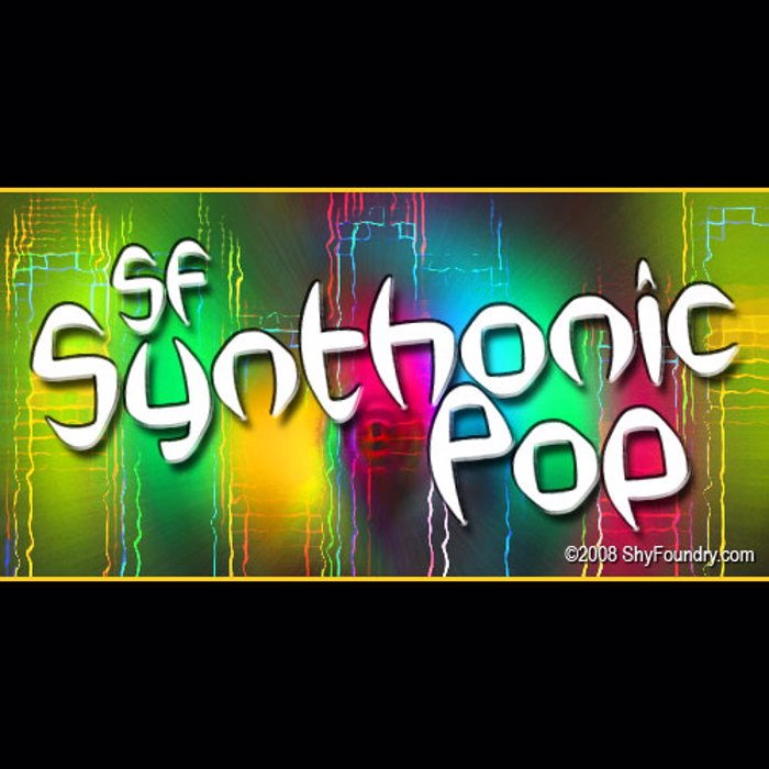 SF Synthonic Pop Font poster