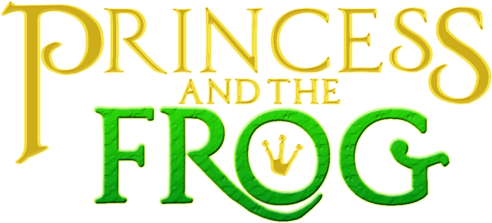 PrincesS AND THE FROG Font poster