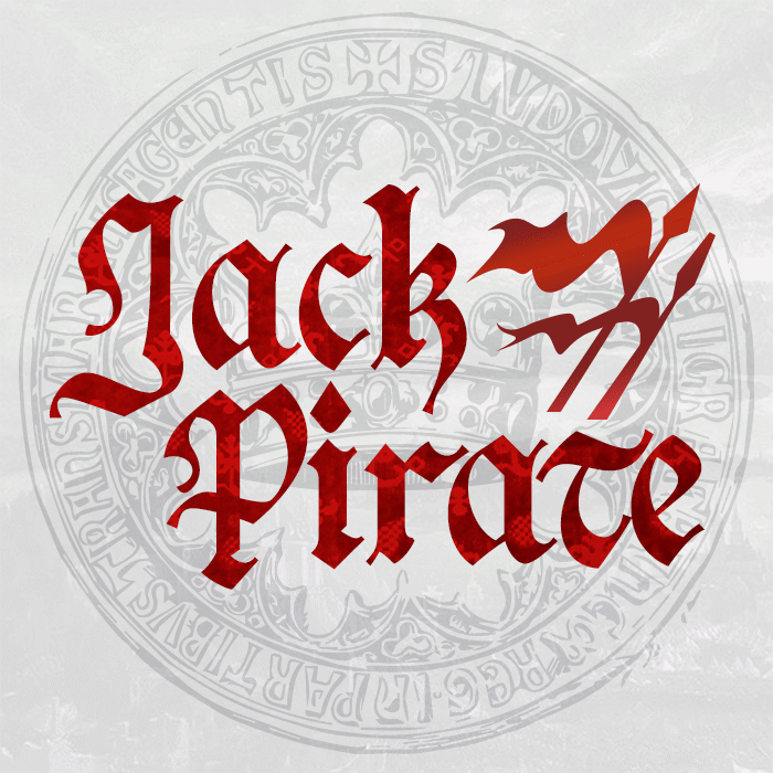 Jack Pirate Font poster
