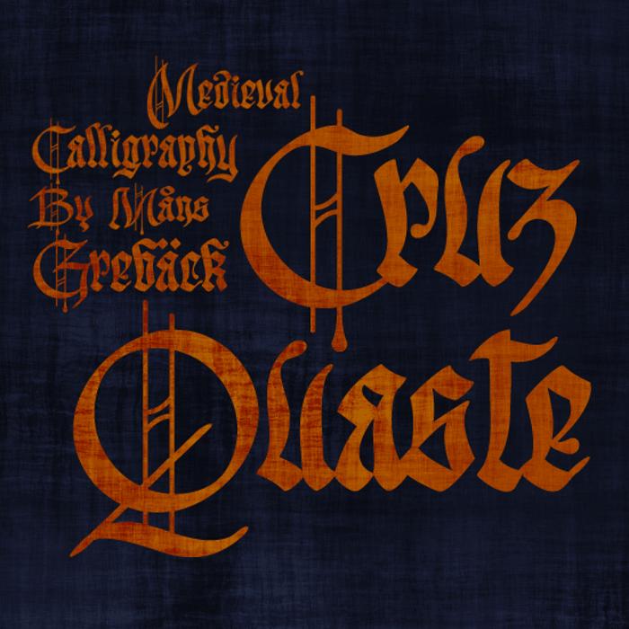 Cruz Quaste Font poster