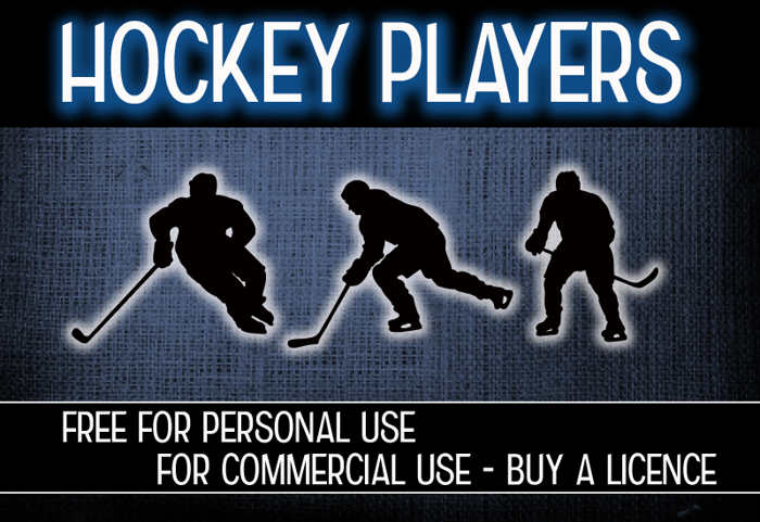CF Hockey Players Font poster