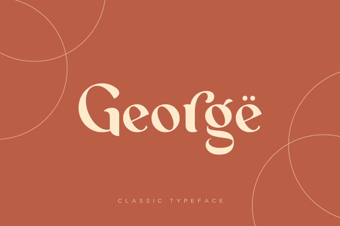 George Font poster