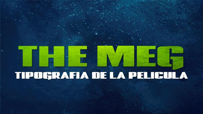 The Meg Font poster