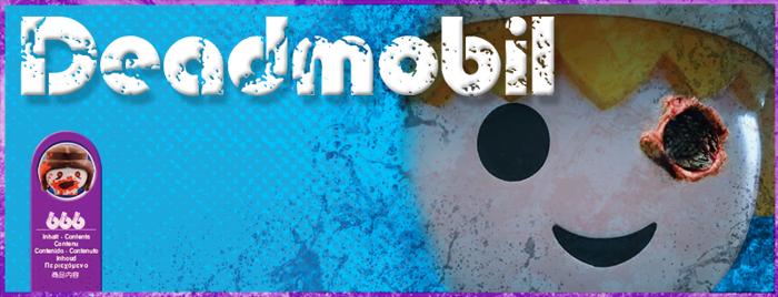 Deadmobil Font poster