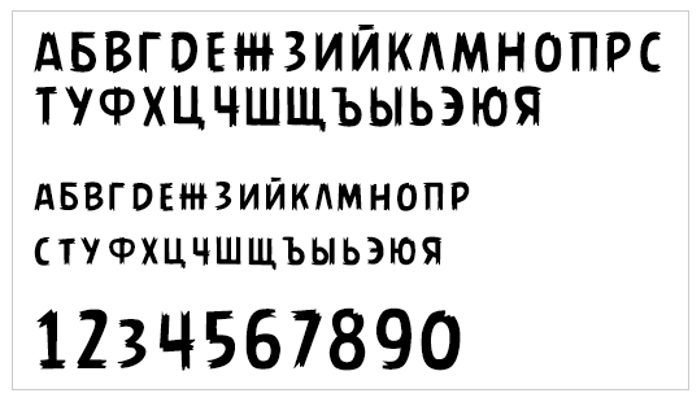 AngryBirds Font poster