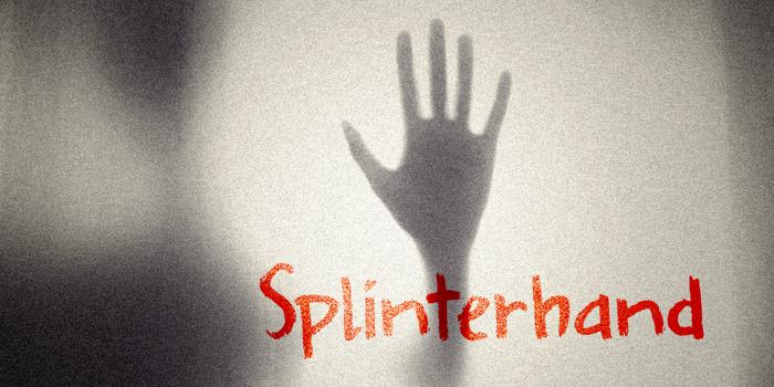 DK Splinterhand Font poster