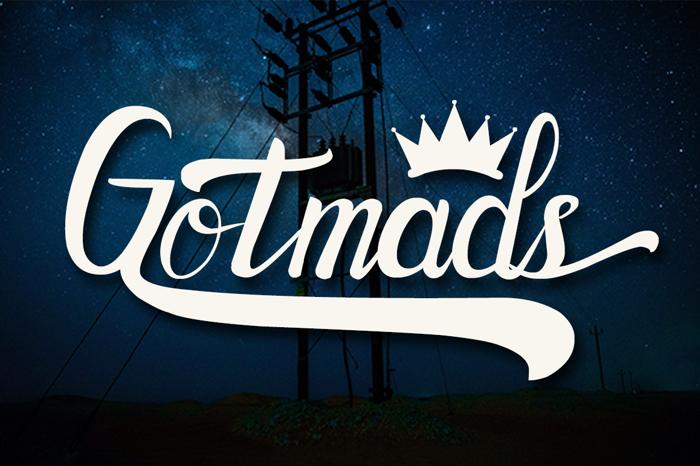 Gotmads Font poster