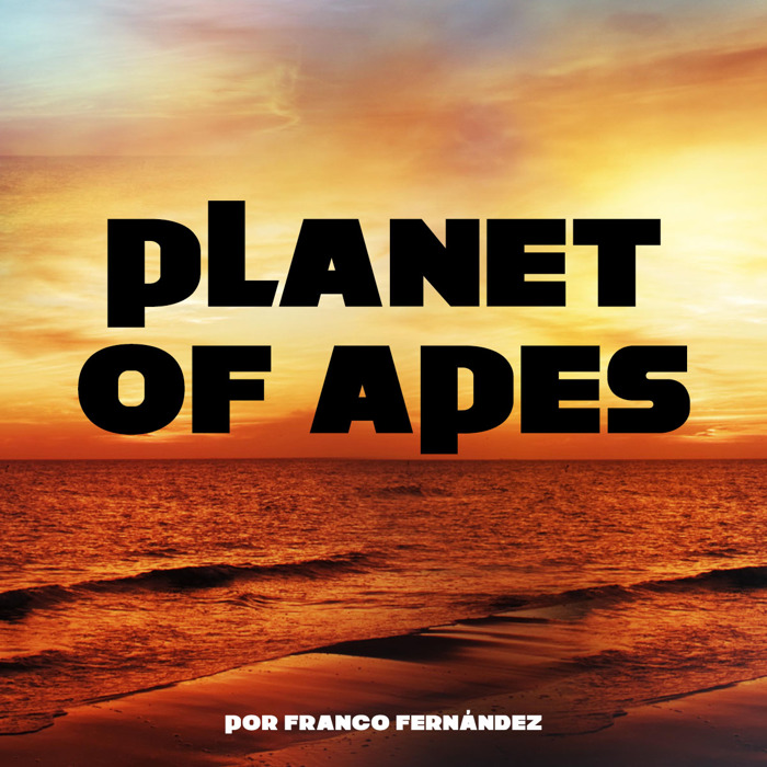 Planet of Apes Font poster