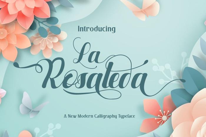 La Rosaleda Font poster