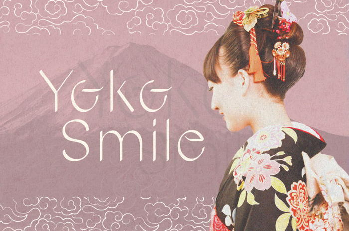Yoko Smile Font poster