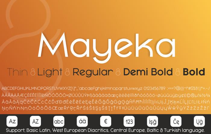 Mayeka Bold Demo poster