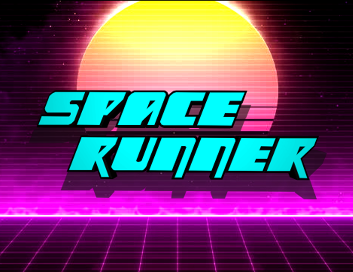 Space Runner Font poster