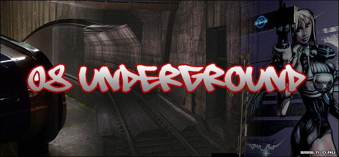 08 Underground Font poster