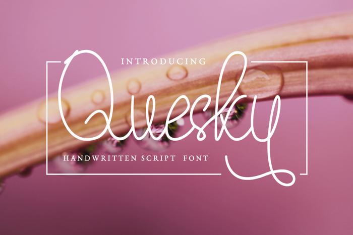 Quesky Font