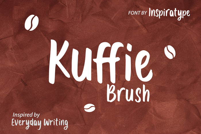 Kuffie Font poster