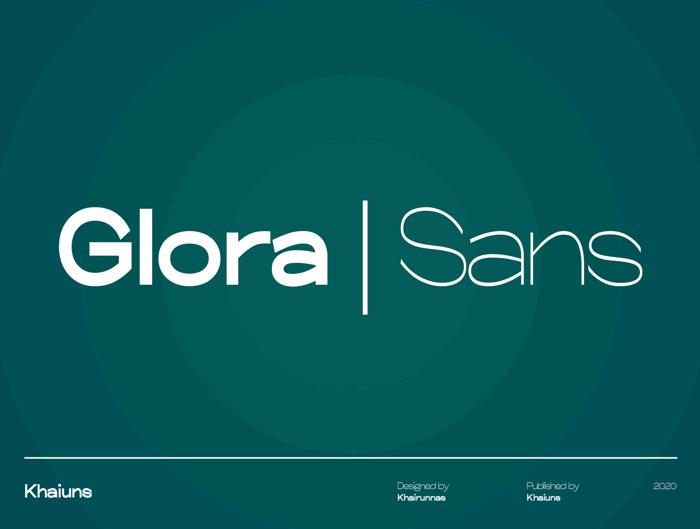 Glora Font