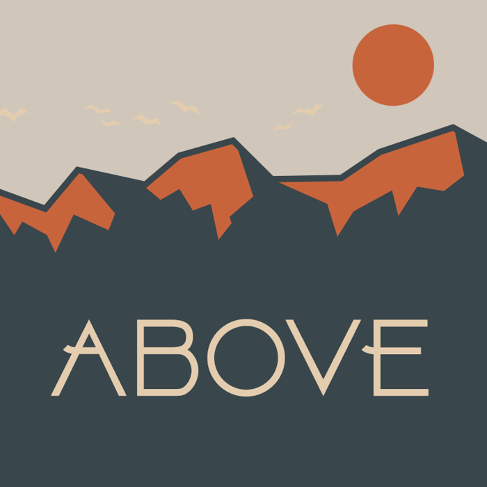 Above Font poster
