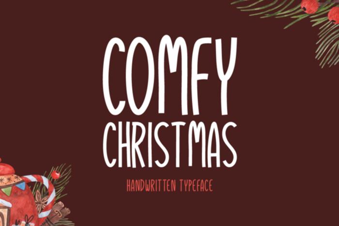 Comfy Christmas Font poster