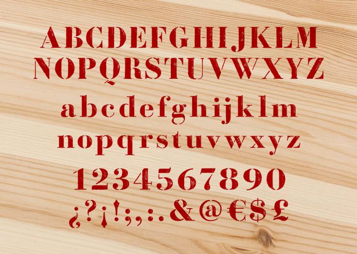 Bodoni Fragile Font poster