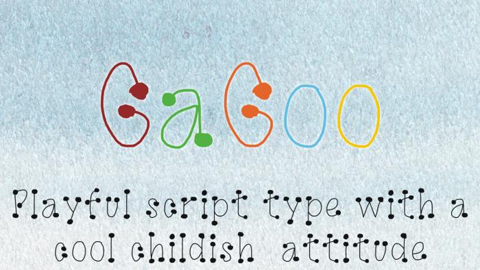 GaGoo Font