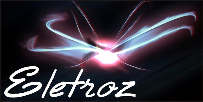Eletroz Font poster