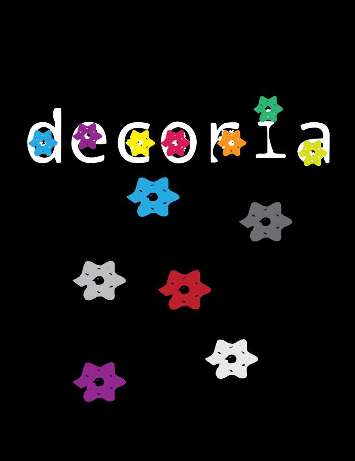 decoria Font poster